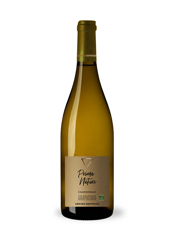 Prima Nature chardonnay 2020 organic wine without sulfites