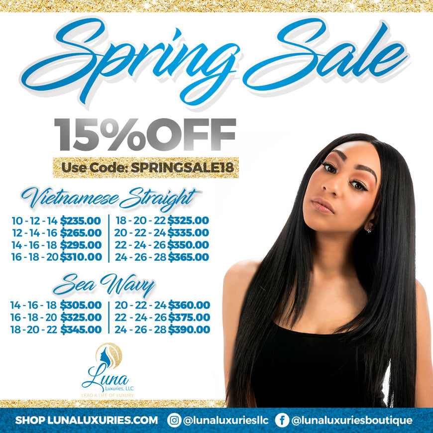 Don't Miss Out on Our Spring Sale. It Will Not Last Forever.