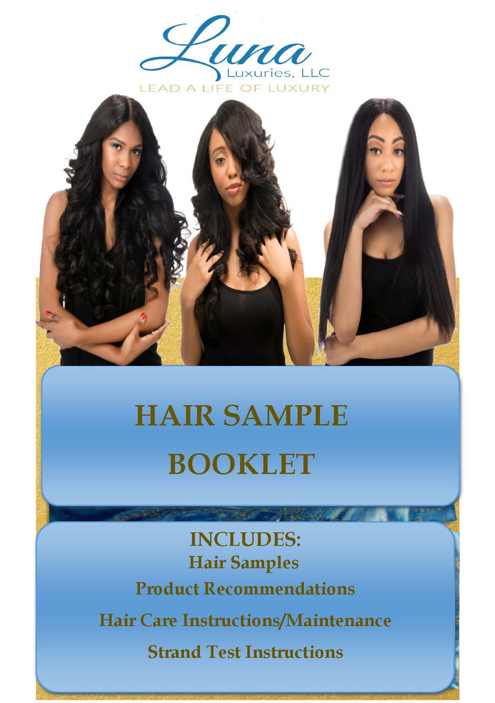 Hair Sample Booklet