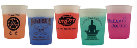 custom cups that change colors