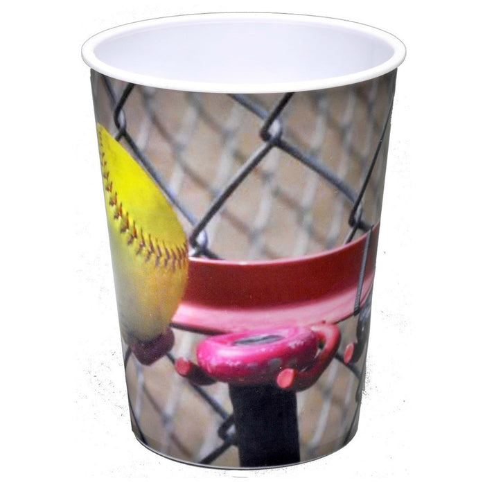 Cup Girls Fastpitch 16oz Souvenir 1pc, Decorations-GulfCoastBeads.com