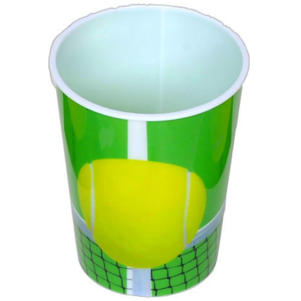 Cup, Tennis 16oz Souvenir 1Pc, Decorations-GulfCoastBeads.com