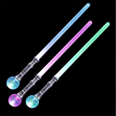 Best Place To Buy Sword Staff, 30 inch Light Up with Magic Ball Online - Gulf Coast Beads