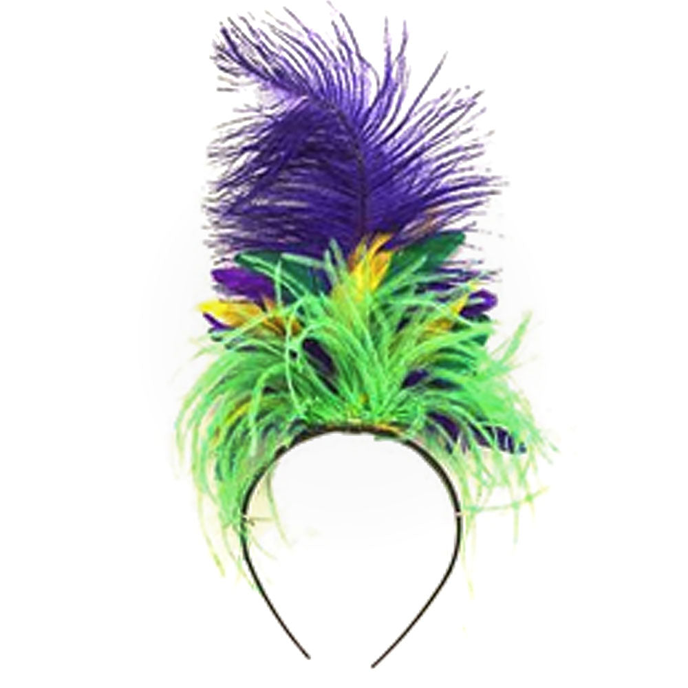 purple-green-gold-feather-headband