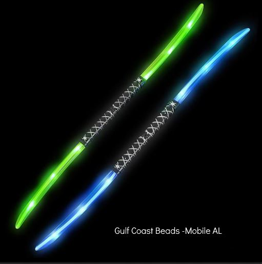 Best Place To Buy Sword, 37 inch Light-up Double Ninja with Sound Online - Gulf Coast Beads