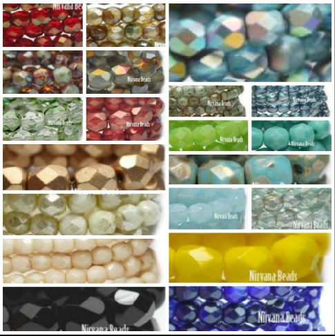 Best Place To Buy Glass Beads, 3mm Faceted Round Fire Polished Online - Gulf Coast Beads