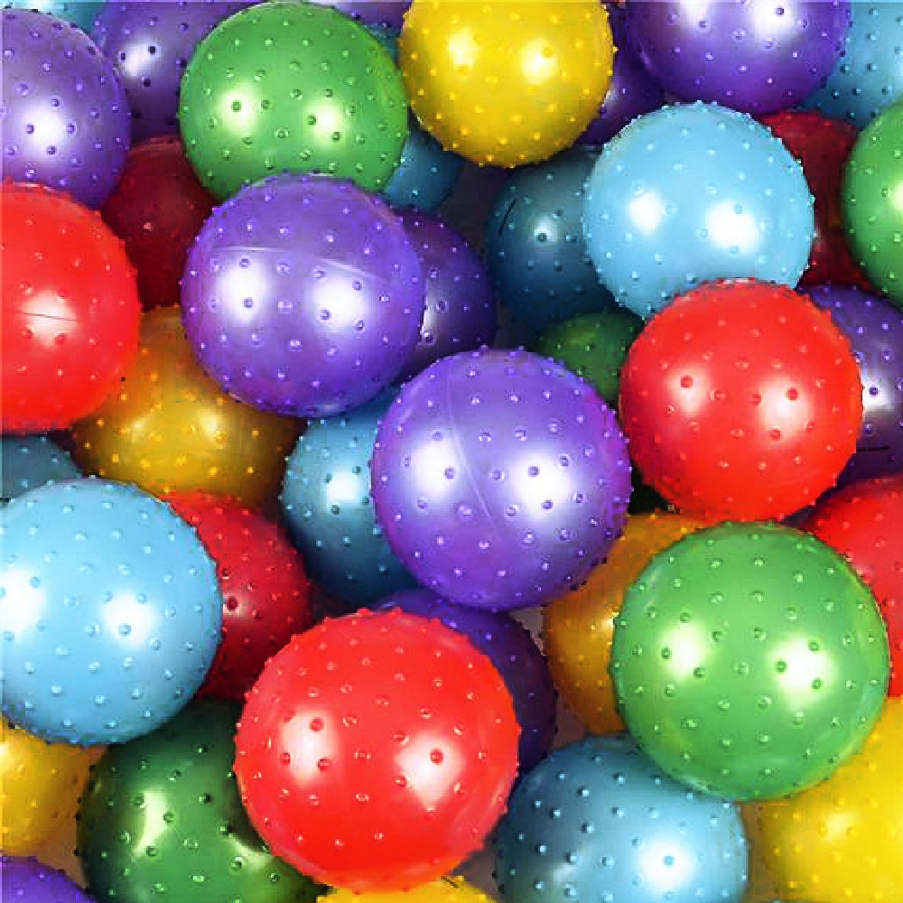 Balls, 5 in Knobby Asst Colors, Novelty-GulfCoastBeads.com