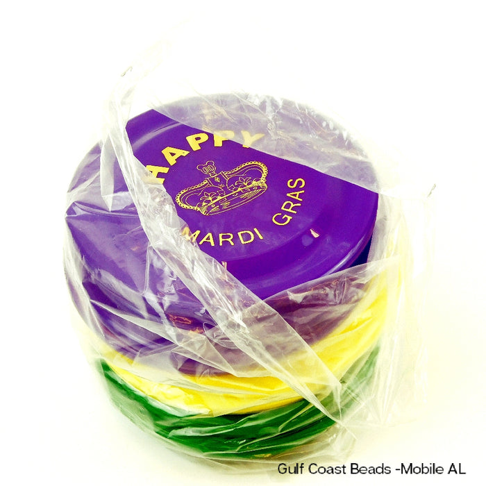 Best Place To Buy Saucers, 7-inch Purple, Green, Yellow Flying Disks Online - Gulf Coast Beads