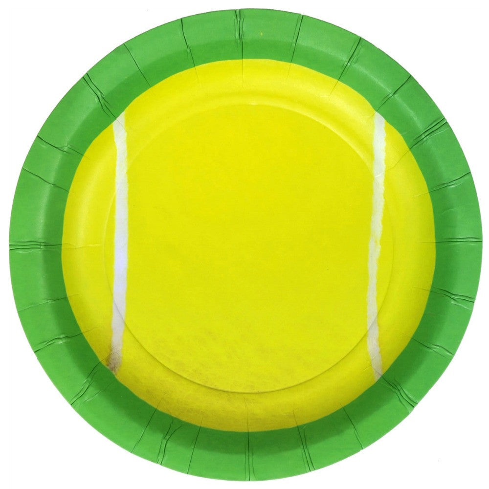 Best Place To Buy Plates, Tennis 7in Paper 8Pk Online - Gulf Coast Beads