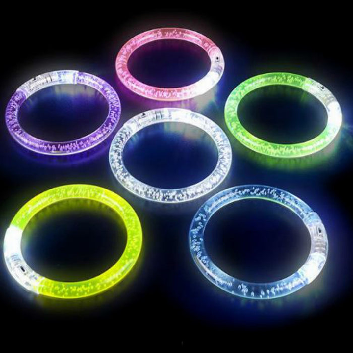 Bracelet, 8.5in Flashing, Novelty-GulfCoastBeads.com