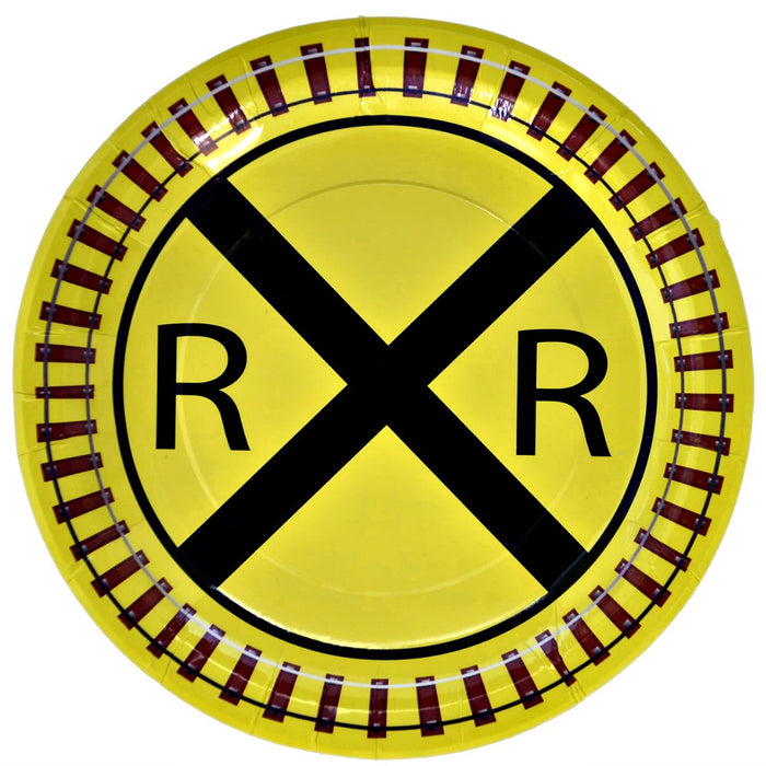 Best Place To Buy Plates, Railroad Train 9in Paper 8Pk Online - Gulf Coast Beads