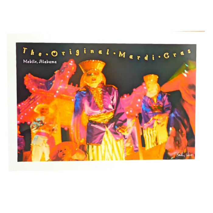 Best Place To Buy Picture, Mardi Gras Reveler, unframed Online - Gulf Coast Beads