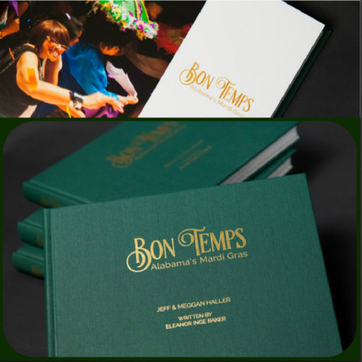 Book, Bon Temps (2017), Eleanor Inge Baker, Artist Showcase-GulfCoastBeads.com