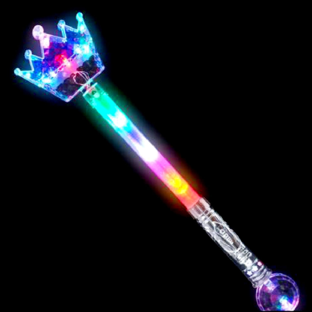 "Best Place To Buy Wand, Light-Up 20.5"" Magic Crown Online - Gulf Coast Beads"