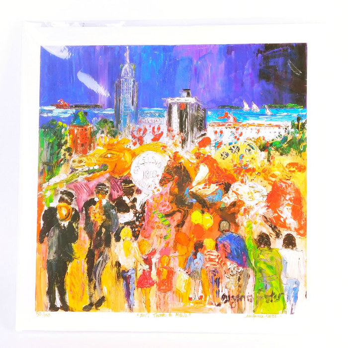 Best Place To Buy Print, Eugenia Foster, Mardi Gras 14inx14in Online - Gulf Coast Beads