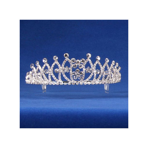 perfect, fit for a queen, rhinestone tiara from Gulf Coast Beads
