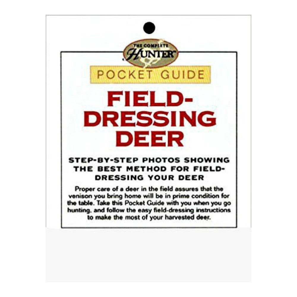 Best Place To Buy Pocket Guide, for Field Dressing Deer 1 piece Online - Gulf Coast Beads