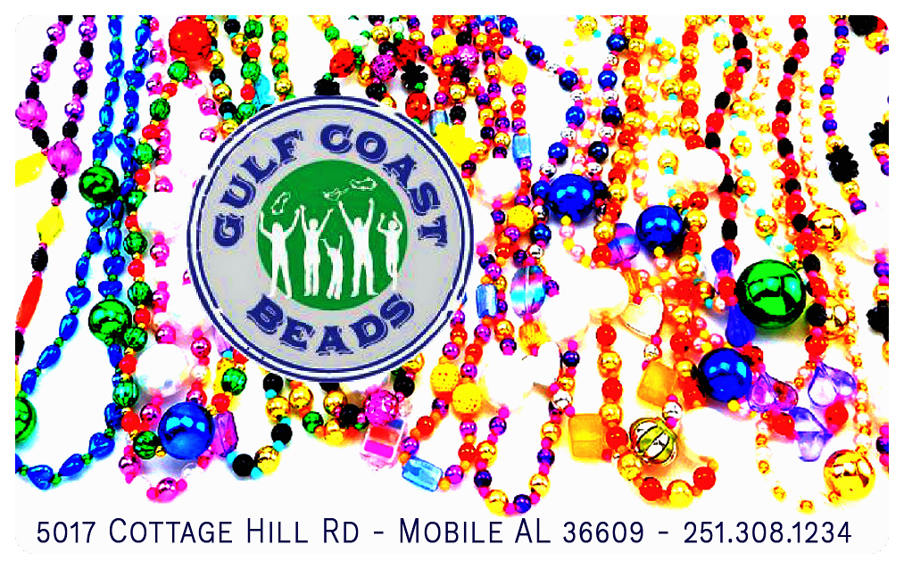 Gift Card- Good for Mardi Gras Throws, Gift Card-GulfCoastBeads.com