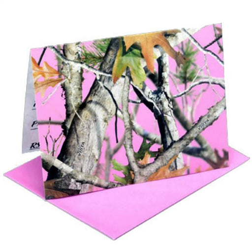 Invitations, Pink Camo Party 8Pk, Decorations-GulfCoastBeads.com