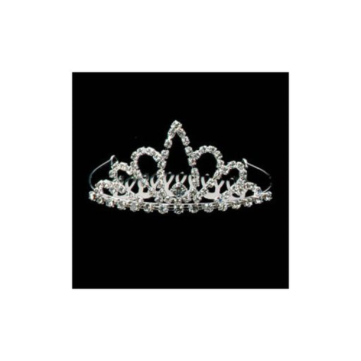 adorable rhinestone tiara for child or doll from Gulf Coast Beads