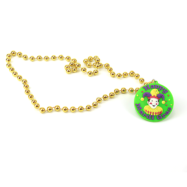 Light Up Jester Necklace for Mardi Gras