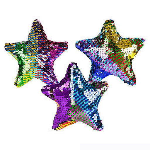 multicolor flip sequin star for favors and fun prizes
