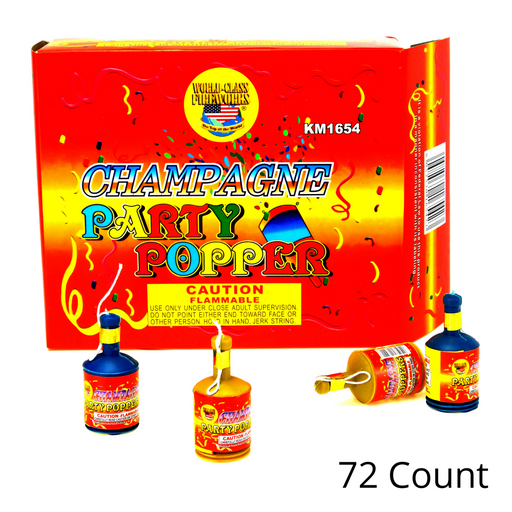 Best Place To Buy Party Poppers, 72 Pc/Box Online - Gulf Coast Beads