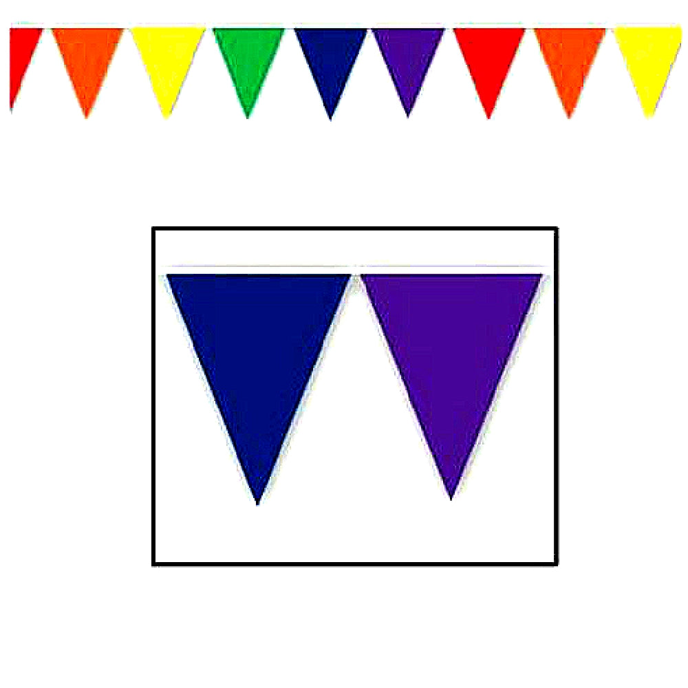 Best Place To Buy Pennant, 12ft Hanging Rainbow Banner Online - Gulf Coast Beads