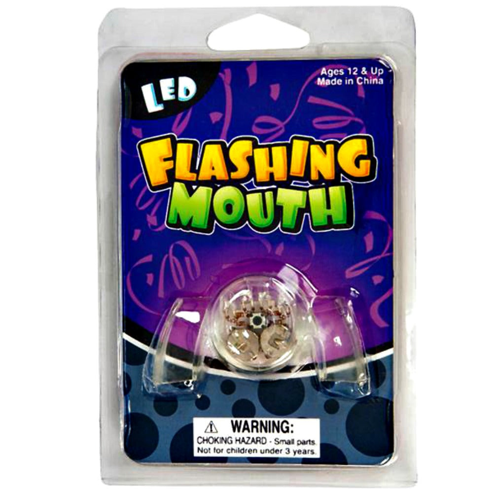 LED Flashing Mouth Piece, Novelty-GulfCoastBeads.com