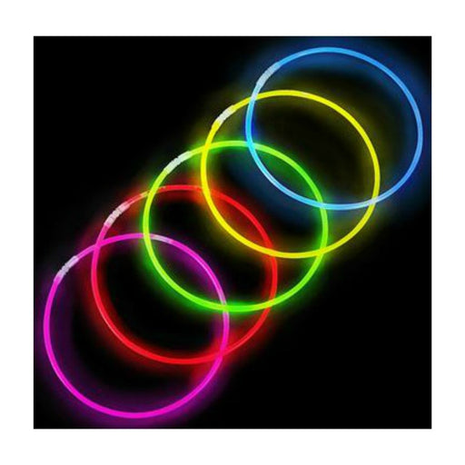 Necklace, 22in Glow Assorted 50 count, Novelty-GulfCoastBeads.com