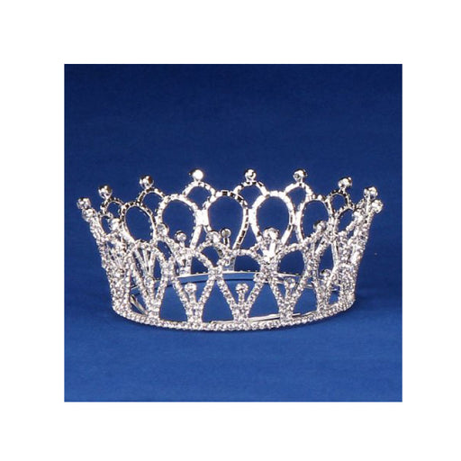 rhinestone crown for festivals, pageants and plays - Gulf Coast Beads
