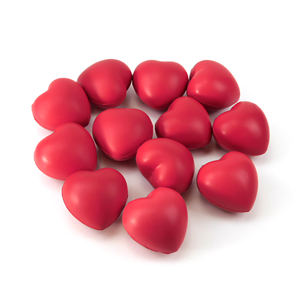 Stress Balls (hearts) for good times - Gulf Coast Beads