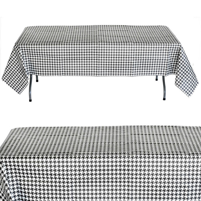 Table Cover, Bamaflage Houndstooth 54in x 108in PVC 1Pc, Decorations - GulfCoastBeads.com