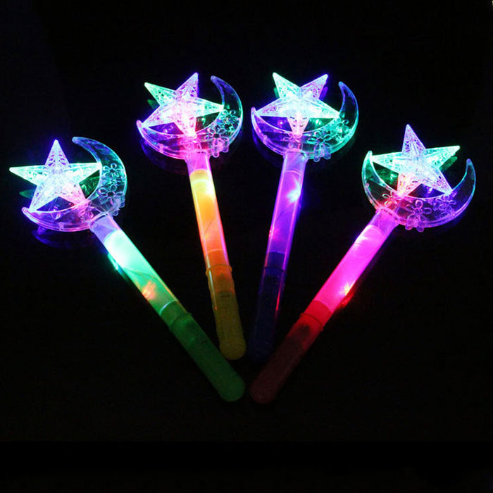 Best Place To Buy Wand, Lightup Star and Moon in Assorted Colors Online - Gulf Coast Beads