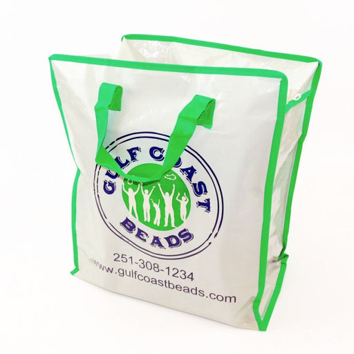 Best Place To Buy Zipper Bag, Logo Vinyl Bag Online - Gulf Coast Beads