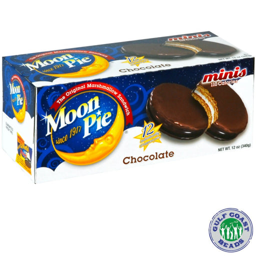 Moon Pie Mini Chocolate, Food-GulfCoastBeads.com