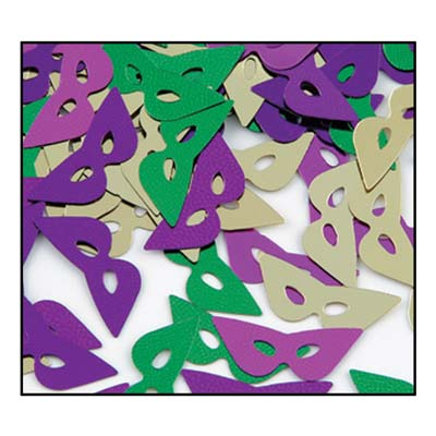 Confetti, Mardi Gras Masks, Decorations-GulfCoastBeads.com