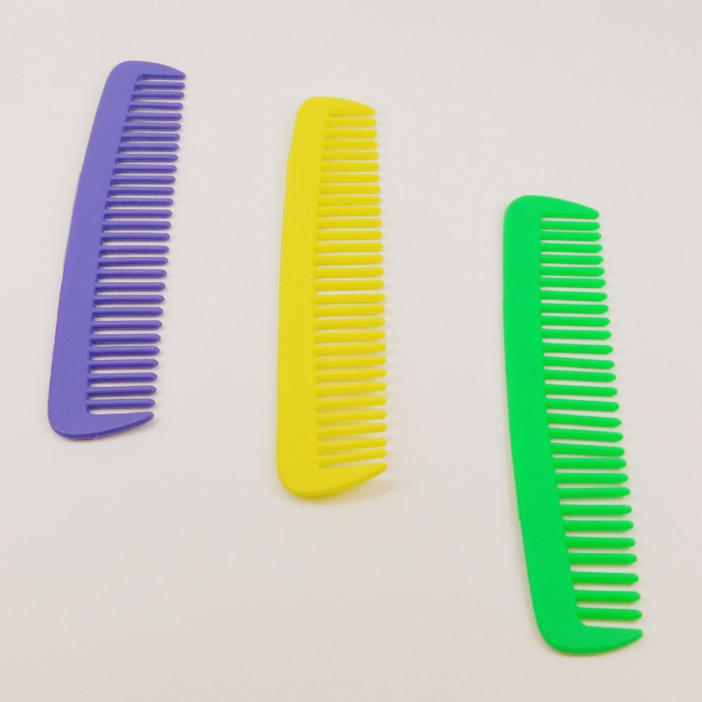 Combs, Giant 14.5inch Purple,Green,Yellow, Novelty-GulfCoastBeads.com