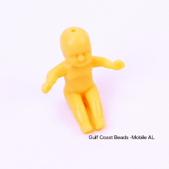 Baby, 35mm King Cake, Decorations-GulfCoastBeads.com