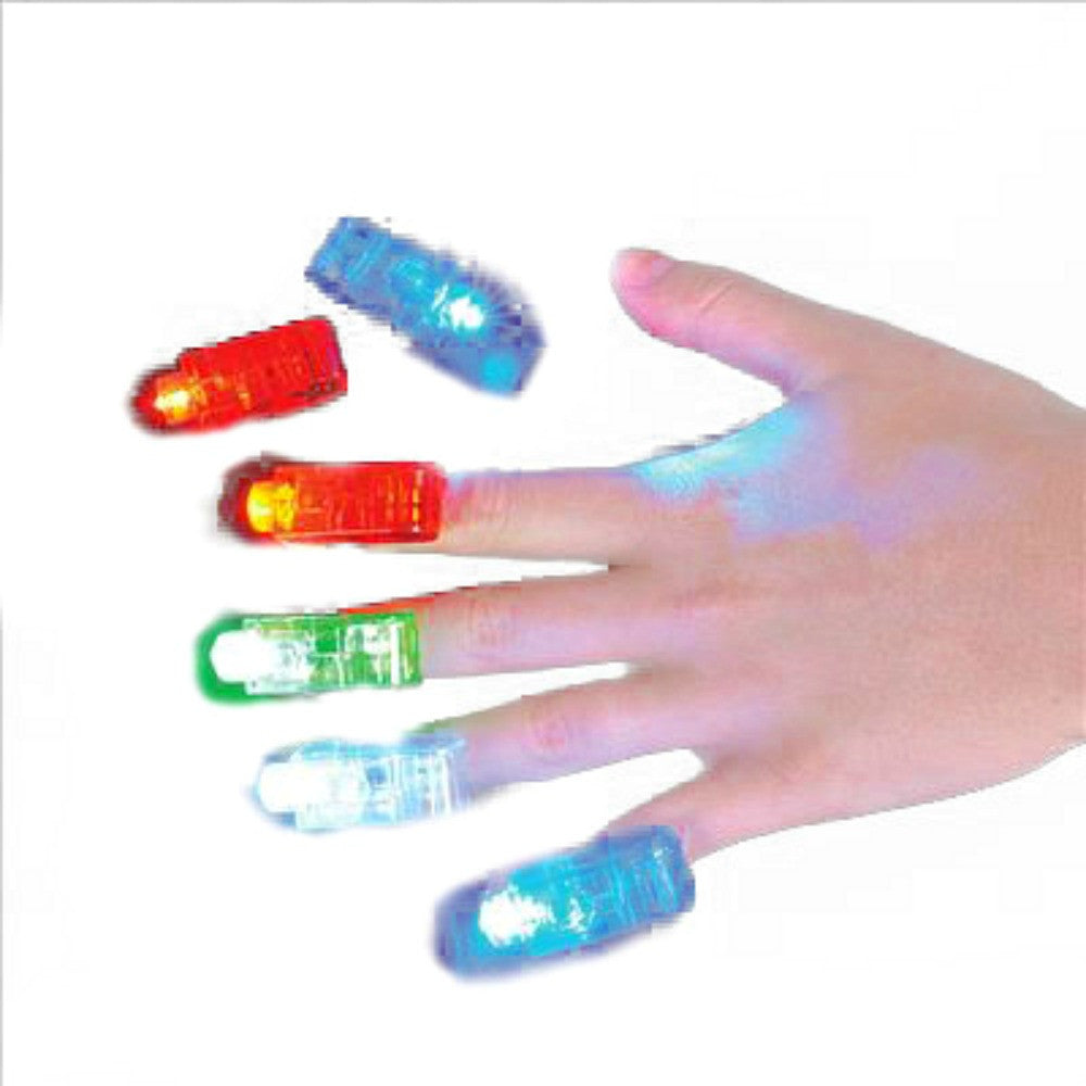 Light up finger laser lights, 4 per pack, Novelty-GulfCoastBeads.com