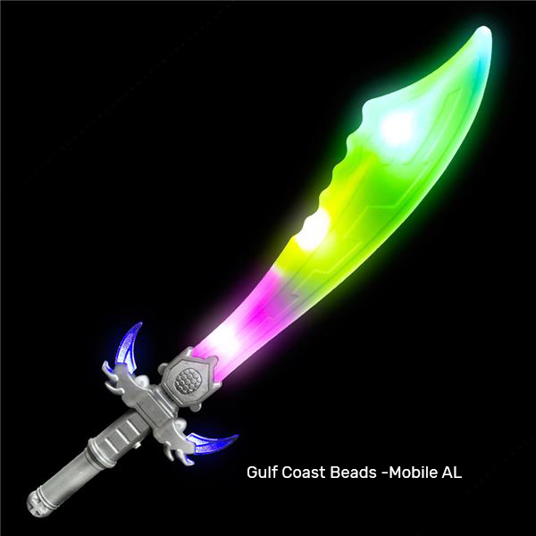 Best Place To Buy Sword, 23.5in Light Up Battle w/ Sound 1 piece Online - Gulf Coast Beads
