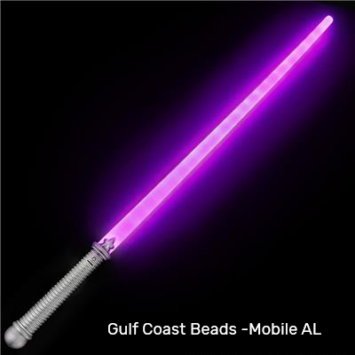 "Best Place To Buy Sword, 28"" Light Up Pink Online - Gulf Coast Beads"