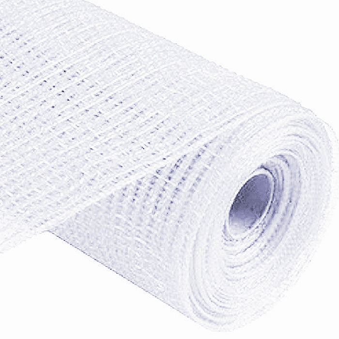 Mesh, Thin Foil - Wide Weave Metallic Roll 21in x 10yd/Roll, Decorations-GulfCoastBeads.com