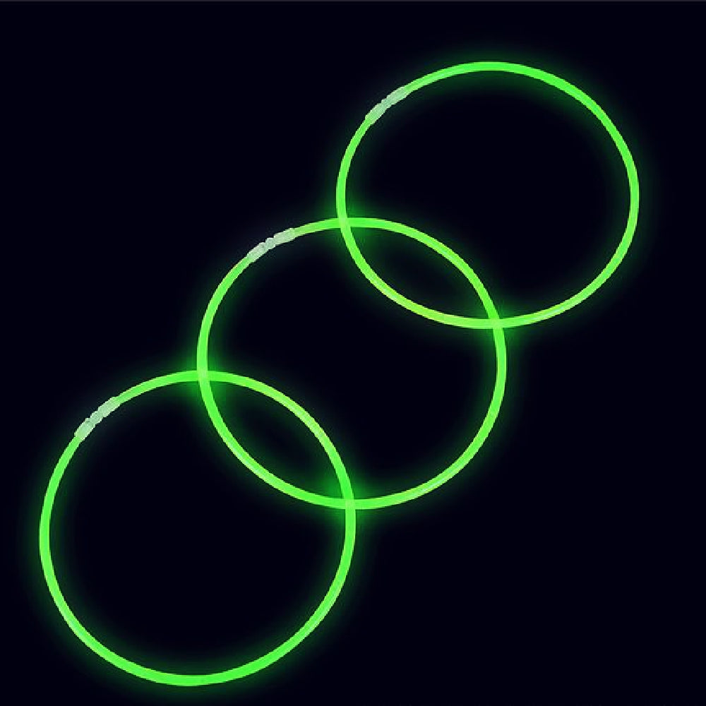 Best Place To Buy Necklace, 22in Glow Green 50 count Online - Gulf Coast Beads