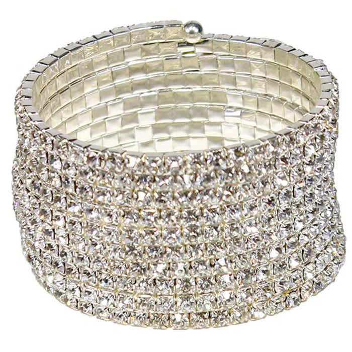 10-row-rhinestone-memory-fashion-bracelet