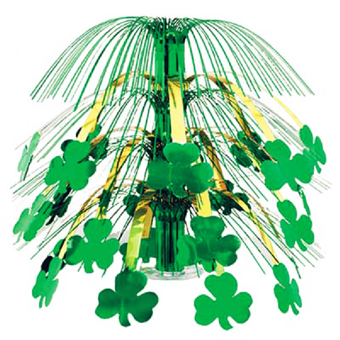 Centerpiece, Cascading Shamrock Fountain, Decorations-GulfCoastBeads.com