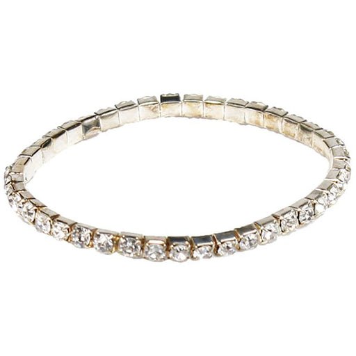 rhinestone-1-row-fashion-bracelet