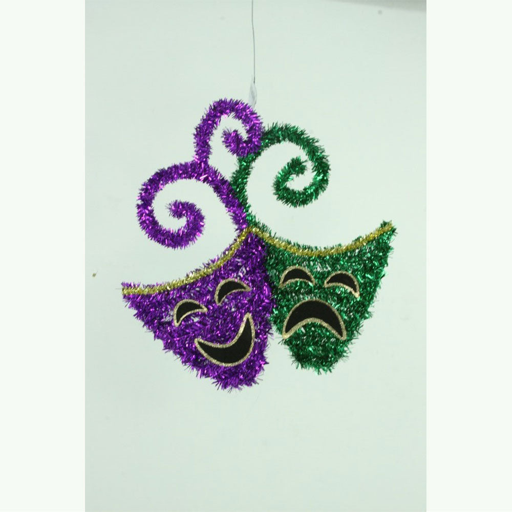 comedy tragedy mardi gras wall decor - Gulf Coast Beads