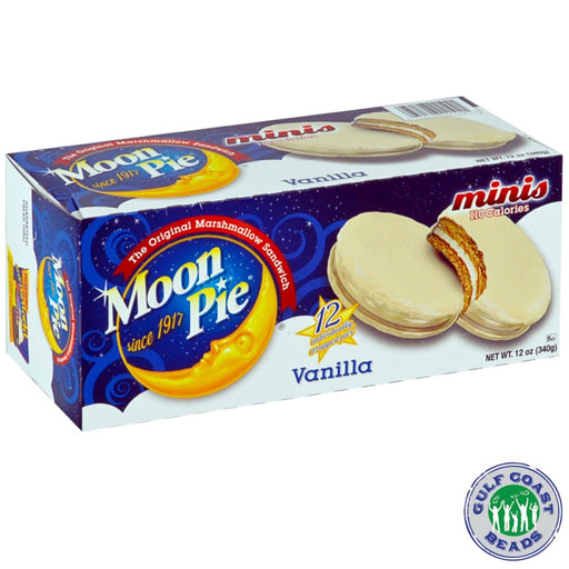 Moon Pie Mini Vanilla, Food-GulfCoastBeads.com