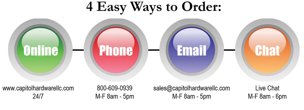 4 Easy Ways to Order!